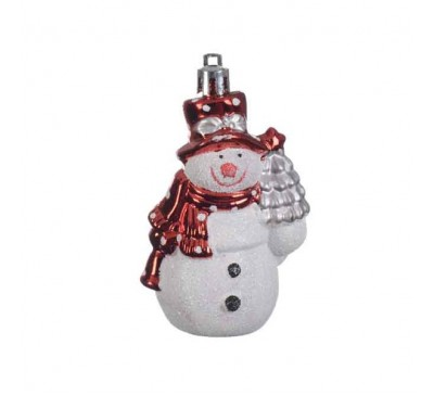 Shatter proof Snowman Tree Decoration