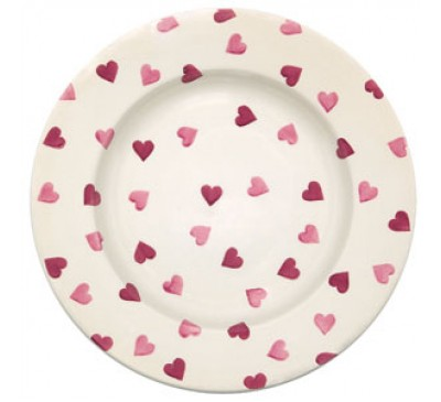 Emma Bridgewater Pink Hearts 10.5 Inch Plate