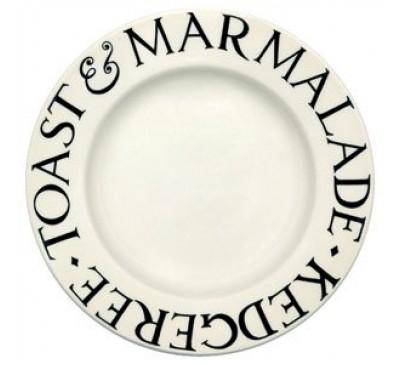 Emma Bridgewater Black Toast 8.5 Inch Plate