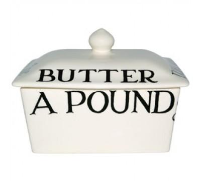 Emma Bridgewater Black Toast Butter Dish