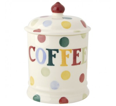 Emma Bridgewater Polka Dot Coffee Storage Jar