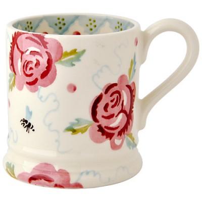 Emma Bridgewater Rose & Bee Half Pint Mug