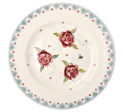 Emma Bridgewater Rose & Bee 10.5 Inch Plate