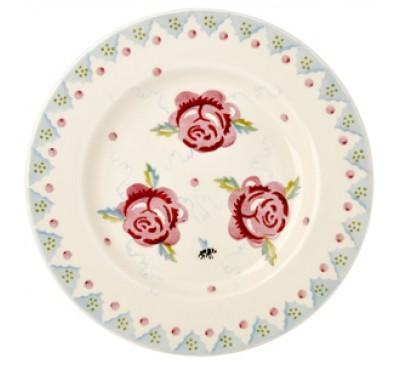 Emma Bridgewater Rose & Bee 8.5 Inch Plate