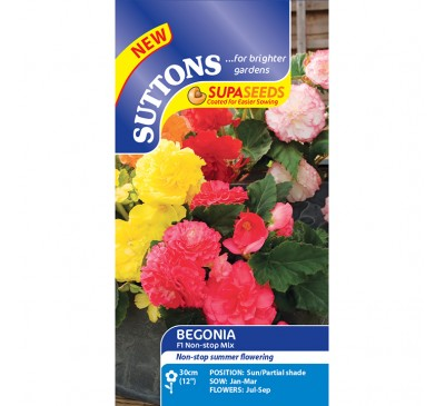Begonia Non-Stop Mix F1