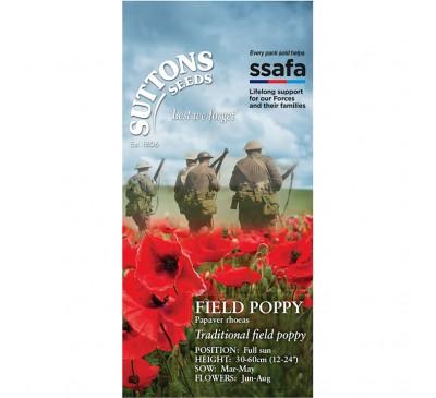 Field Poppy* Papaver Rhoeas (Ssafa)