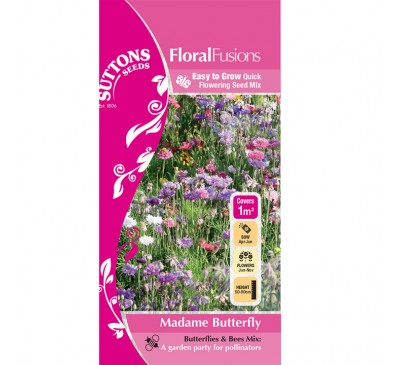 Flower Mixes Madame Butterfly 1Sqm