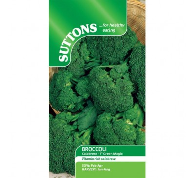 Broccoli Calabrese Green Magic F1