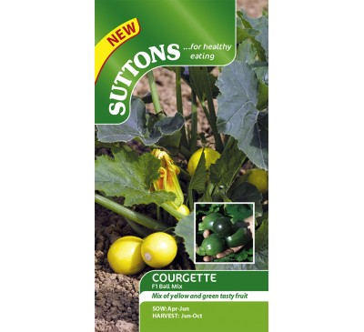 Courgette Two Ball Mix F1