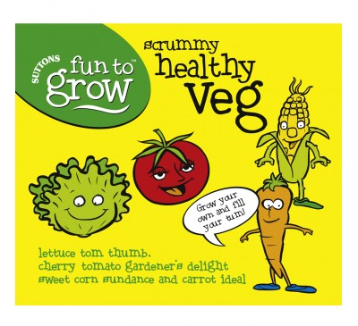 Fun To Grow - Collection - Scrummy Healthy Veg