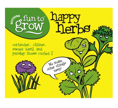 Fun To Grow - Collection - Happy Herbs