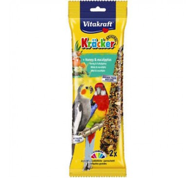 Vitakraft Australian Cockatiel Honey Sticks 2 Pack