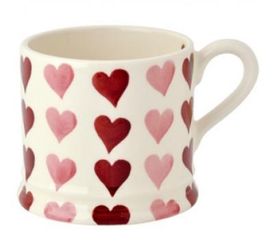 Emma Bridgewater Pink Hearts Stacked Baby Mug