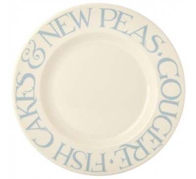 Emma Bridgewater Pale Blue Toast 10.5 Inch Plate
