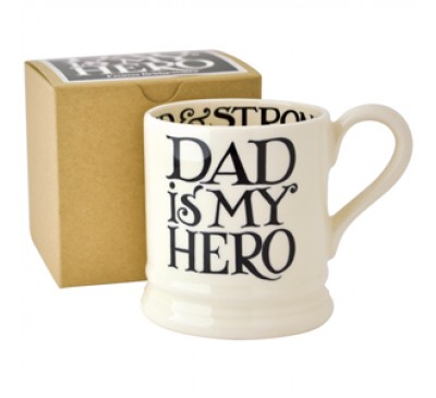 Emma Bridgewater Black Toast Dad Hero Half Pint Mug
