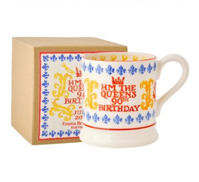 Emma Bridgewater HM The Queens Birthday Half Pint Mug