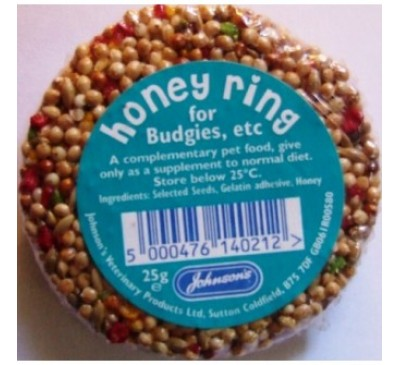 Honey Rings Budgie