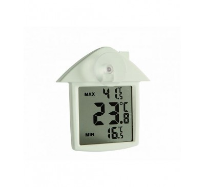 Digital Max/Min Window Thermometer