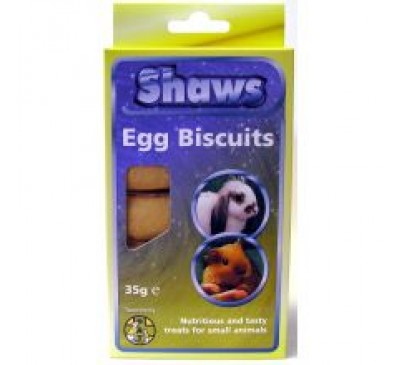 Shaws Egg Biscuits Small Animal Original 35g