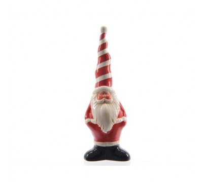 Ceramic Santa Tree Decoration