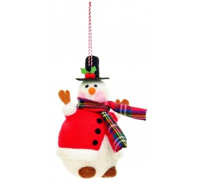 11cm Jolly Snowman