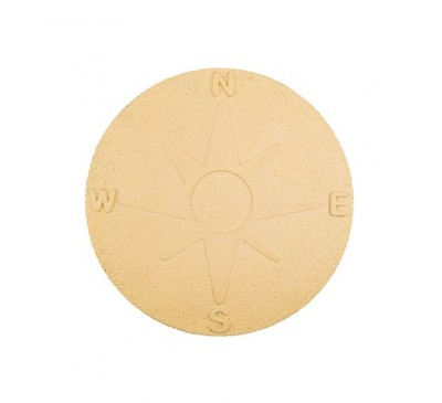 Compass Stepping Stone York Gold
