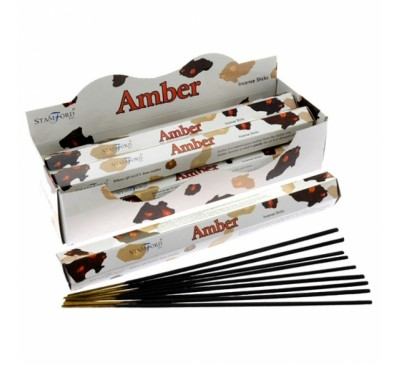 Aargee Amber Incense Sticks
