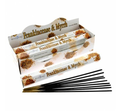 Aargee Frankincense & Myrrh Incense Sticks