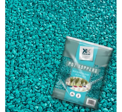 Pot Toppers Aqua Sea Handy 5kg Bag (approx)
