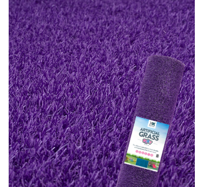 Purple Grass - Artificial Grass