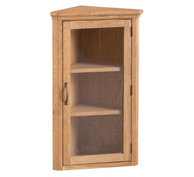 Calbeck Oak Corner Cupboard Top