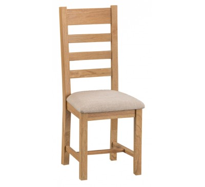 Calbeck Oak Ladder Back Chair