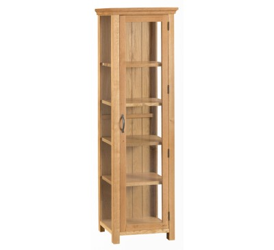 Calbeck Oak Display Cabinet
