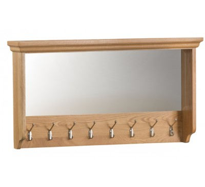 Calbeck Oak Large Glazed Coat Rack