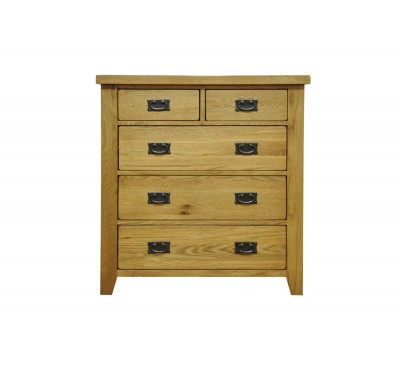 Cambridge Oak Bedroom 2 Over 3 Chest