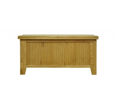 Cambridge Oak Bedroom Blanket Box
