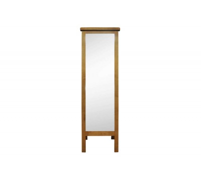 Cambridge Oak Bedroom Cheval Mirror