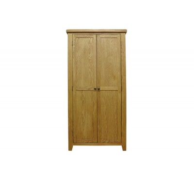 Cambridge Oak Bedroom Full Hanging Wardrobe