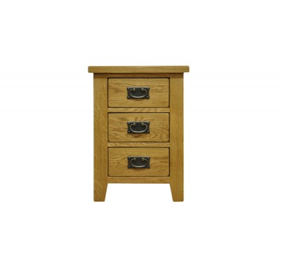 Cambridge Oak Bedroom Large Bedside Cabinet