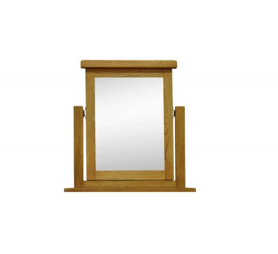 Cambridge Oak Bedroom Trinket Mirror