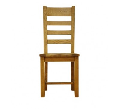 Cambridge Ladder Back Wooden Seat