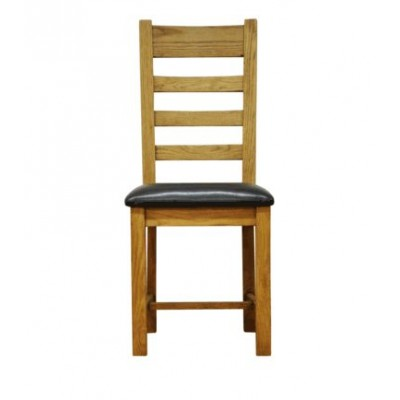 Cambridge Ladder Back Chair Pu Seat