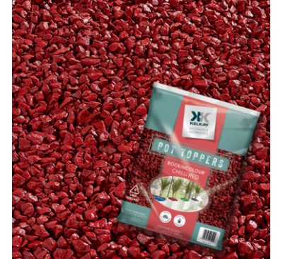 Pot Toppers Chilli Red Handy 25kg Bag (approx)