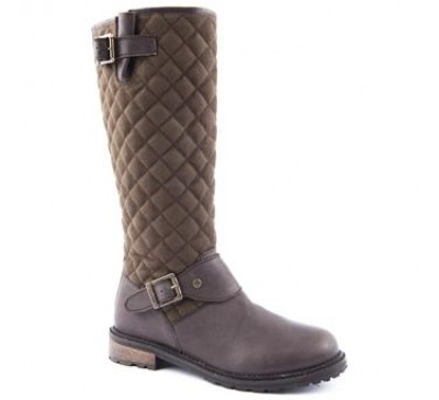 Barbour Hoxton Boot Brown