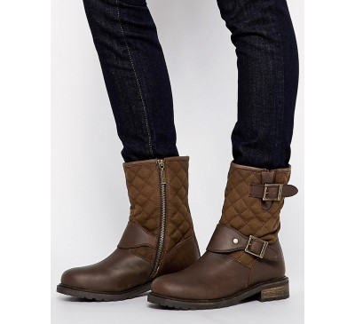 Barbour Gixer Boot Brown