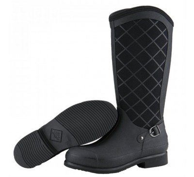 Pacy High Black Muck Boots
