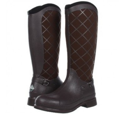 Pacy High Brown Muck Boots