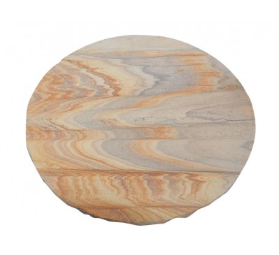 Natural Stone Stepping Stone Rainbow 400mm