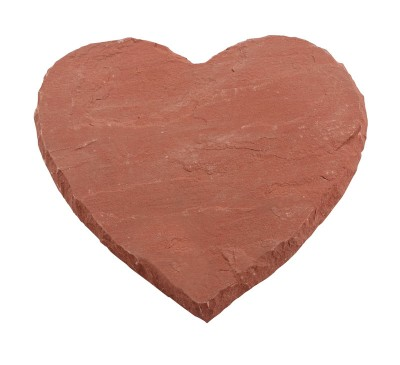 Natural Stepping Stone Warm Heart 450mm