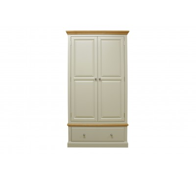 Buttermere 2 Door 1 Drawer Gents Wardrobe